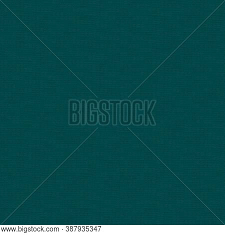 Teal Blue Woven Linen Fabric Texture Background. Seamless Repeat Pattern Swatch. Light Teal Blue Org
