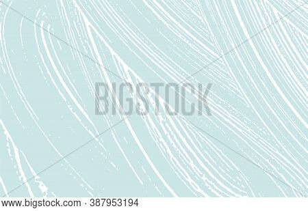 Grunge Texture. Distress Blue Rough Trace. Creative Background. Noise Dirty Grunge Texture. Magnetic