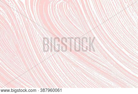 Grunge Texture. Distress Pink Rough Trace. Glamorous Background. Noise Dirty Grunge Texture. Perfect