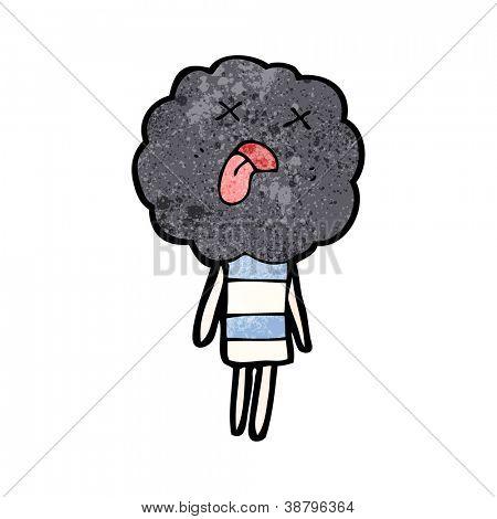 storm cloud dead head creature poster