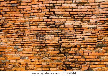 Brcik Wall At Ancient City