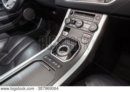 Button To Switch The Transmission To The Inside Cabin Car