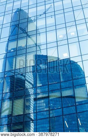 High Buildings Of Modern Business Center Cityscape Photo