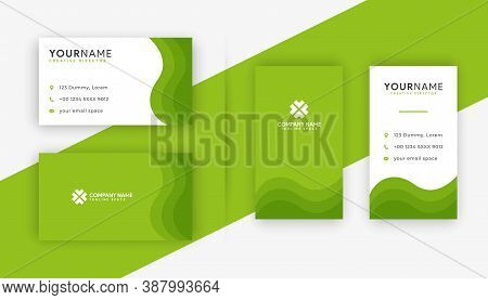 Business card . Business card design . Green color business card ideas . Business cards Template . Modern Business card template design . editable business card design . double sided business card template . new business cards design collection