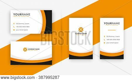 Business card . Business card design . Orange color business card ideas . Business cards Template . Modern Business card template design . editable business card design . double sided business card template . new business cards design collection
