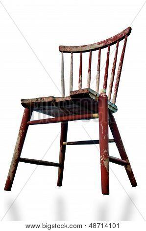 Broken Wooden Chair