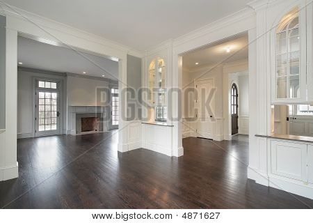 Family Room And Foyer