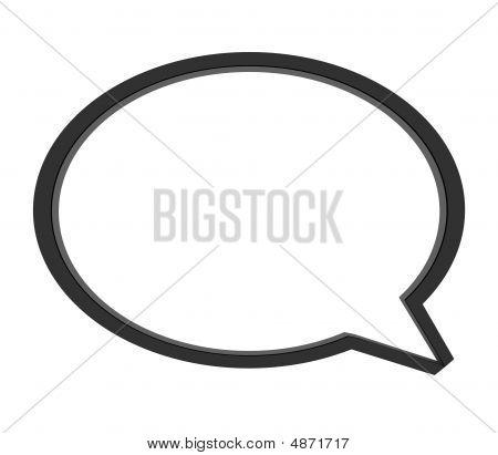 Speech Bubble - Cloud
