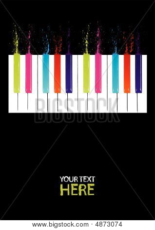 Spectrum Piano Keys
