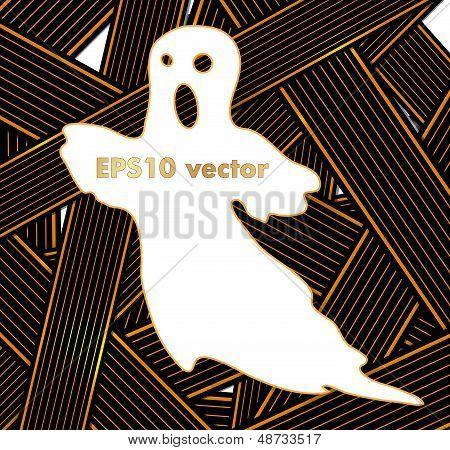 Hallowen Ribbons vector background