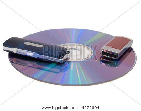 Flash Drive And Cd