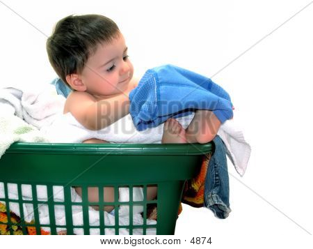 Playing In The Laundry