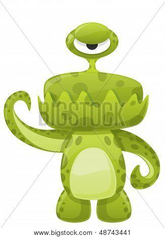 Green Slime Monster