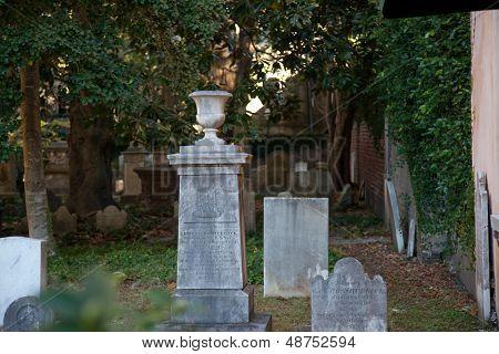 Church yard graveyard