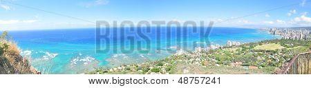 waikiki beach coastline