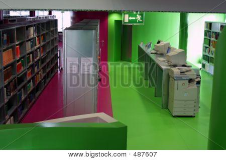 Cottbus Library Interior