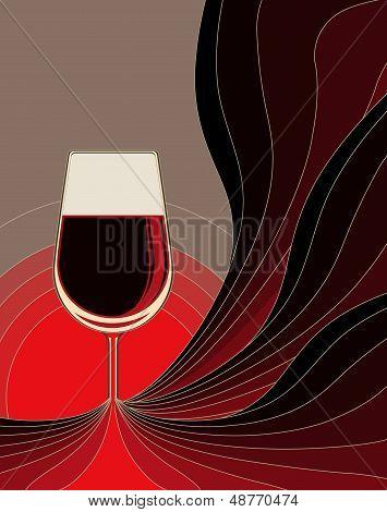 Birth of red wine