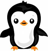 a cute penguin who just wants a hug poster
