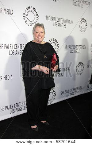 Kathy Bates at the Paley Center for Media 2013 Benefit Gala, 20th Century Fox Studios, Los Angeles, CA 10-16-13