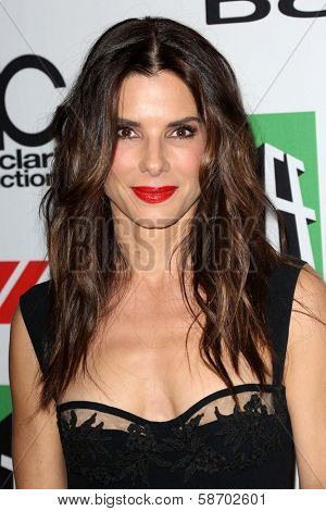 Sandra Bullock at the 17th Annual Hollywood Film Awards Arrivals, Beverly Hilton Hotel, Beverly Hills, CA 10-21-13