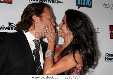 Joyce Giraud de Ohoven and Michael Ohoven at the Real Housewives of Beverly Hills Season 4 Party and Vanderpump Rules Season 2 Party, Blvd. 3, Hollywood, CA 10-23-13