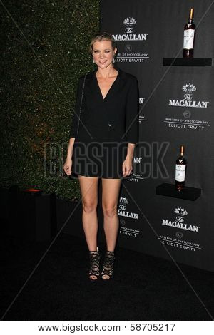 Amy Smart at the Macallan Masters of Photography Featuring Elliott Erwitt, Leica Gallery, Los Angeles, CA 10-24-13