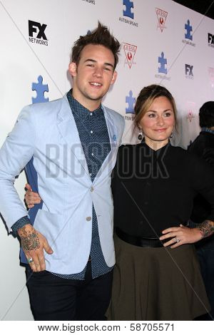 James Durbin at the Blue Jean Ball benefiting Austism Speaks, Blvd. 3, Hollywood, CA 10-24-13