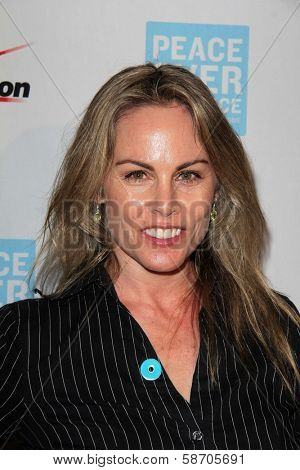Christy Oldham at the Peace Over Violence 42nd Annual Humanitarian Awards, Beverly Hills Hotel, Beverly Hills, CA 10-25-13