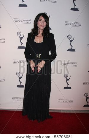 """Katey Sagal at An Evening with """"Sons of Anarchy,"""" Leonard H. Goldenson Theater, North Hollywood, CA 10-25-13"""