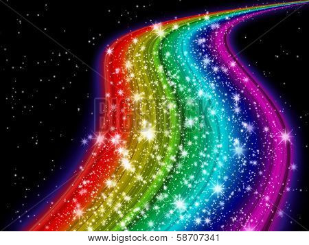 Rainbow Milky Way