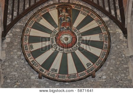 King Arthurs Round Table At Winchester Uk