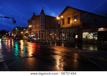 WESTERVILLE, OHIO - OCTOBER 3, 2013:  Westerville, Ohio is one of America's