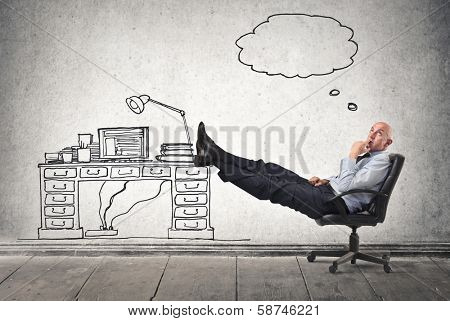 thoughts in office