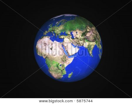 Earth 3D Photo