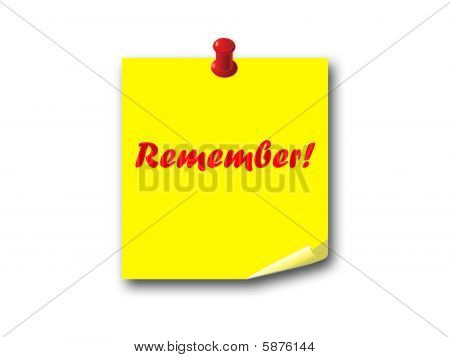 Note Remember