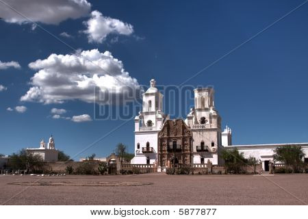 San Xavier Misson near Tucson Arizona