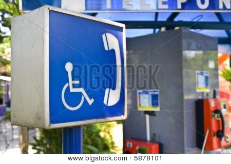 Wheelchair Public Phone