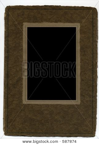 Brown Antique Paper Frame