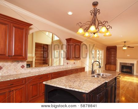 Luxury Home Extended Kitchen