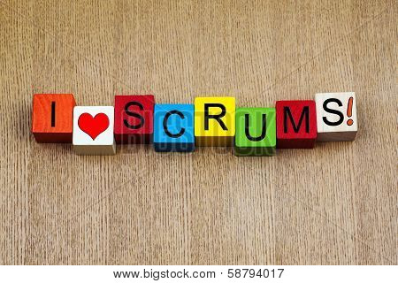 I Love Scrums, Sign For Six Nations And Rugby