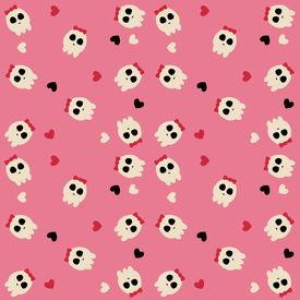 Cute scull pattern