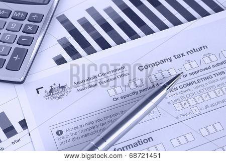 Australian Company Tax Return