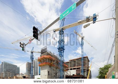 Brickell City Center construction