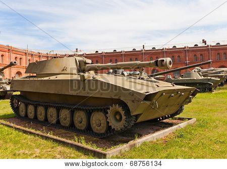 Soviet 122-mm Self-propelled Howitzer 2S1 Gvozdika