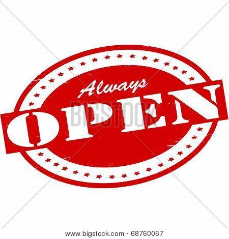 Always Open