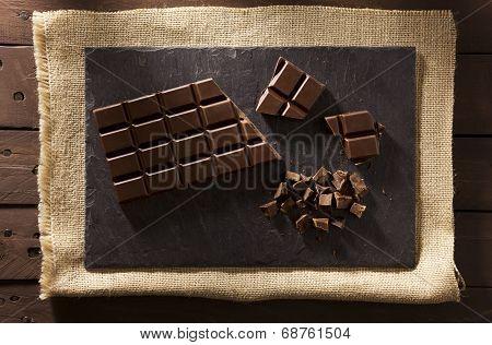 Chocolate On Slate
