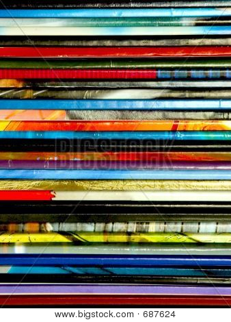 Magazines Closeup