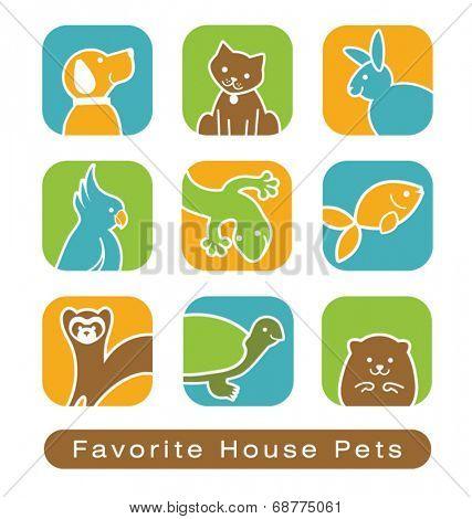 House Pet Icons