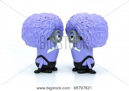 Talk Purple Minion Babbler