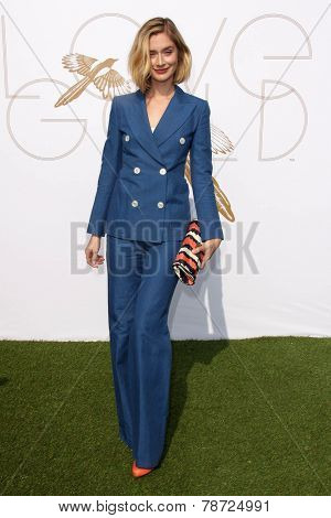 LOS ANGELES - JAN 9:  Caitlin Fitzgerald at the LoveGold Event at the Selma House on January 9, 2014 in Los Angeles, CA